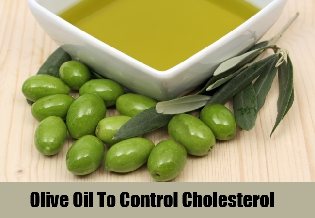 Olive Oil To Control Cholesterol