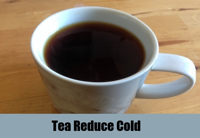 Tea Reduce Cold