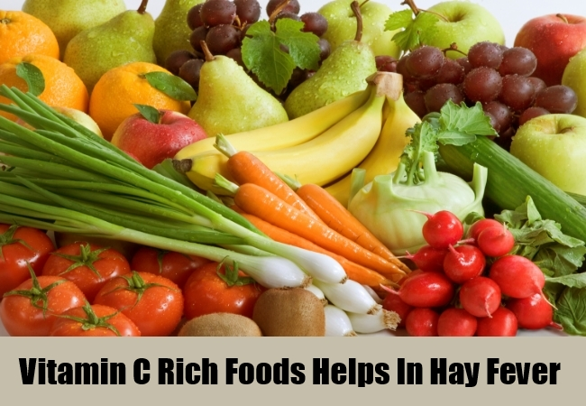 Vitamin C Rich Foods Helps In Hay Fever