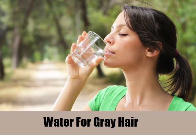Water For Gray Hair