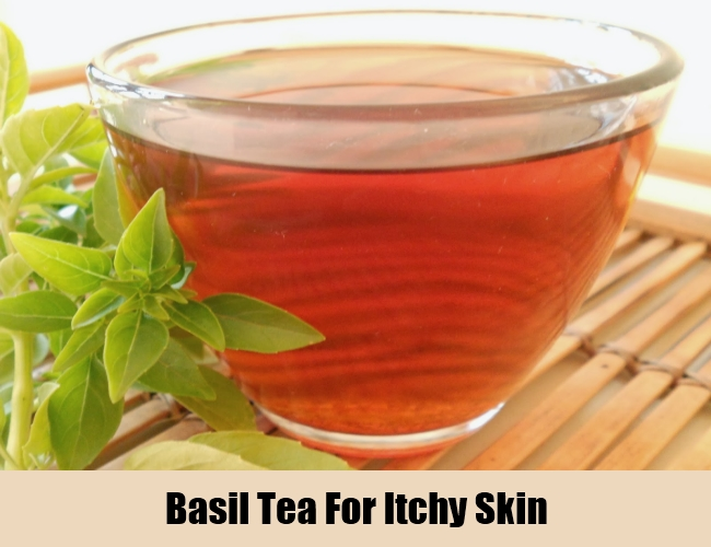 Basil Tea For Itchy Skin