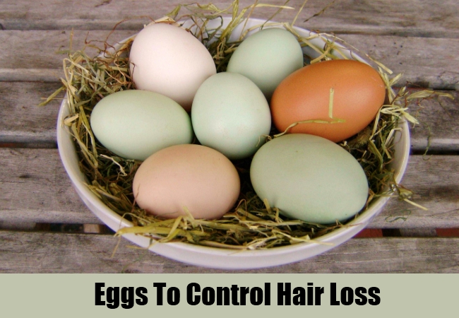 Eggs To Control Hair Loss