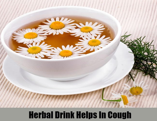 Herbal Drink Helps In Cough