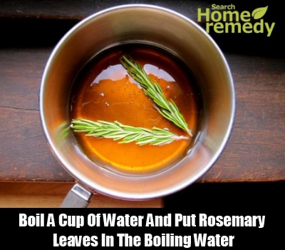 Honey And Rosemary Leaves
