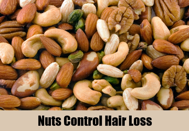 Nuts Control Hair Loss