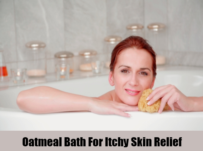 Oatmeal Bath For Itchy Skin Relief