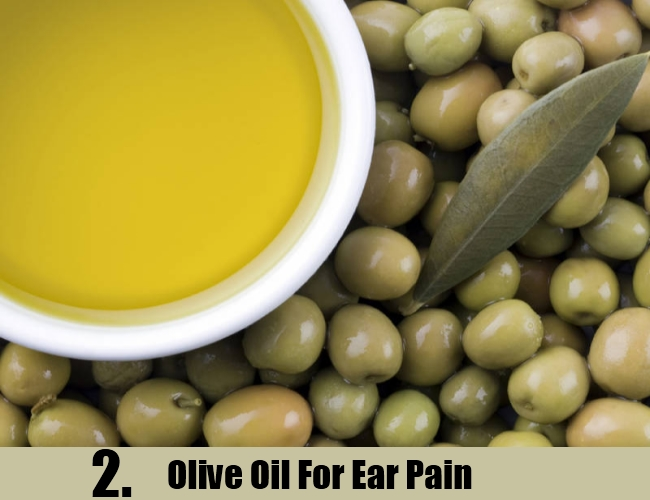 Olive Oil For Ear Pain