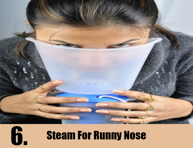 Steam For Runny Nose