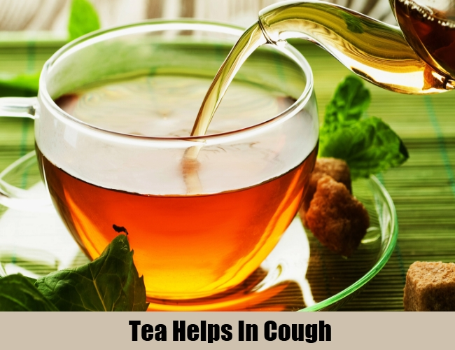 Tea Helps In Cough