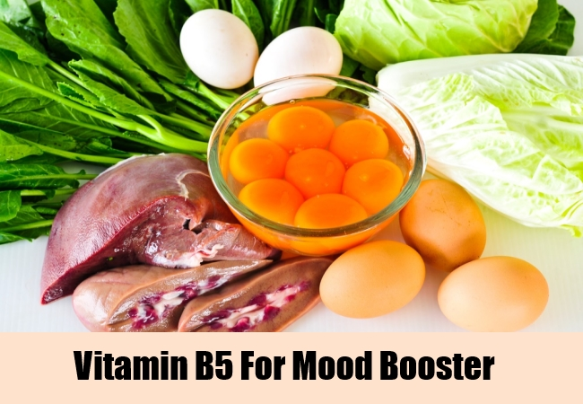 Vitamin B5 For Mood Booster