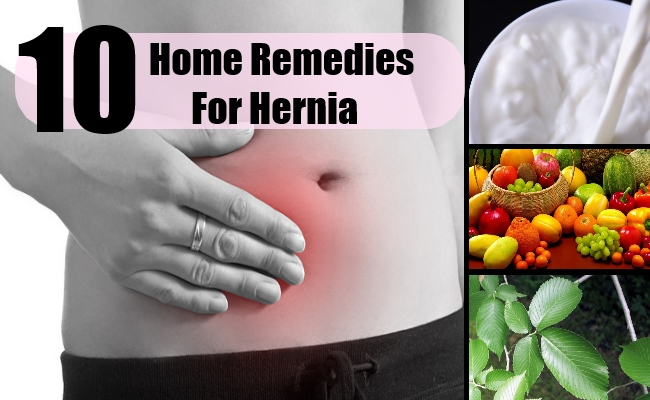 10 Home Remedies For Hernia