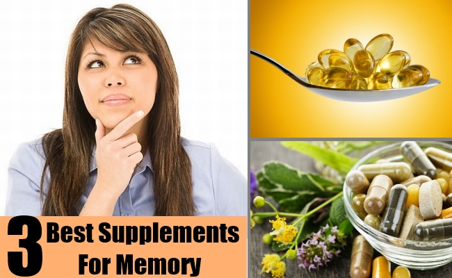 3 Best Supplements For Memory