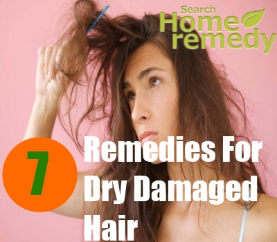 7 Home Remedies For Dry Damaged Hair