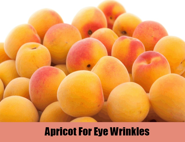 Apricot For Eye Wrinkles