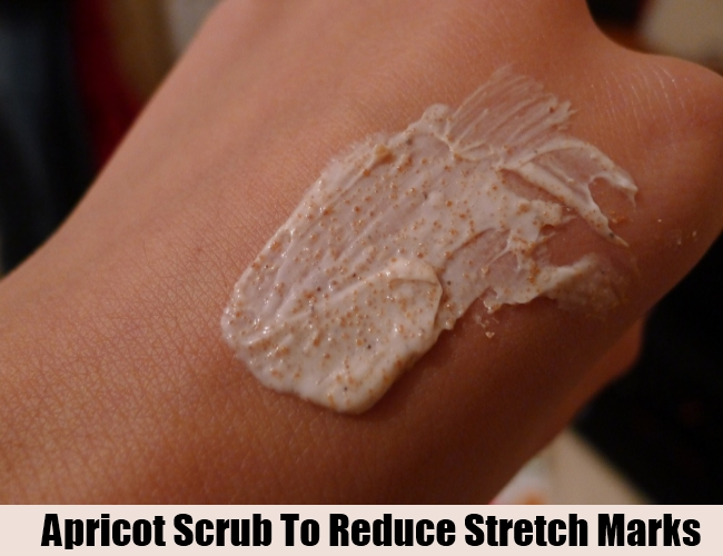 Apricot Scrub To Reduce Stretch Marks