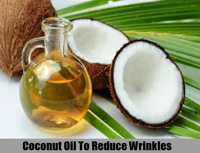 Coconut Oil To Reduce Wrinkles