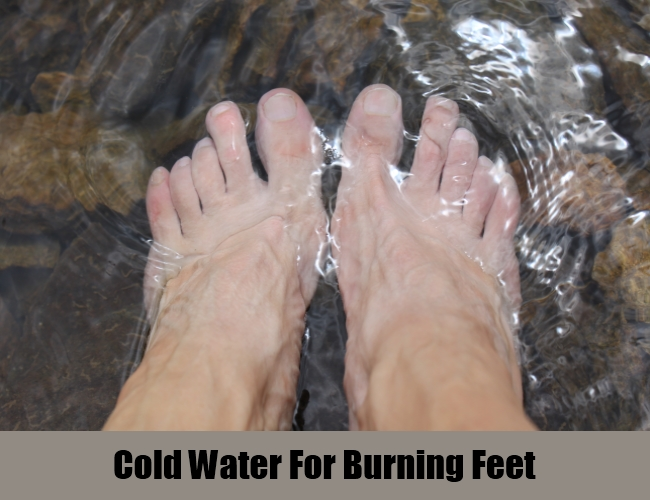 Cold Water For Burning Feet
