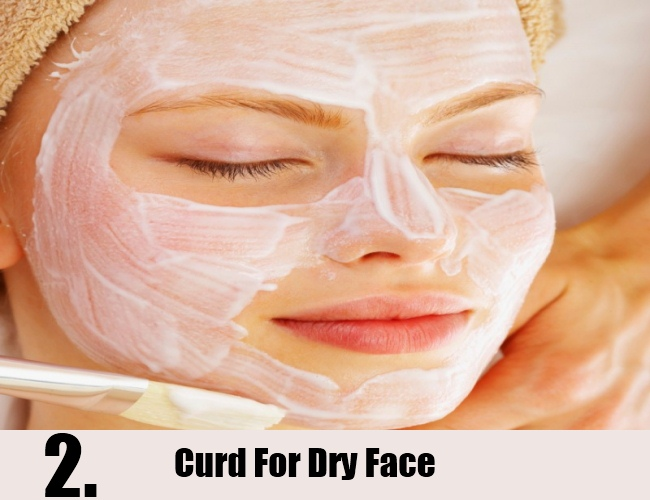 Curd For Dry Face
