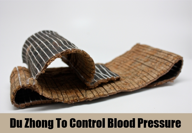 Du Zhong To Control Blood Pressure
