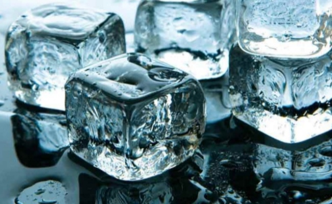 Ice Cube or Cold Water