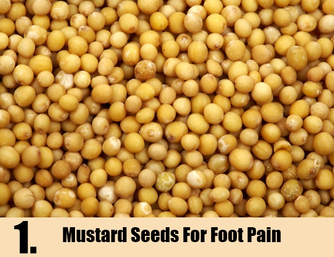 Mustard Seeds For Foot Pain