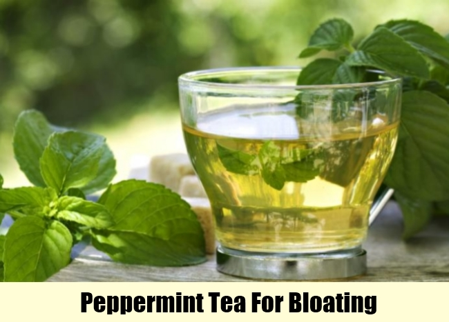 Peppermint Tea For Bloating