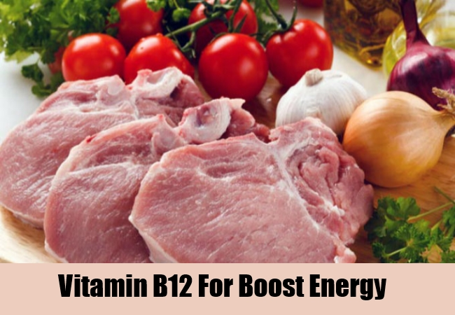Vitamin B12 For Boost Energy