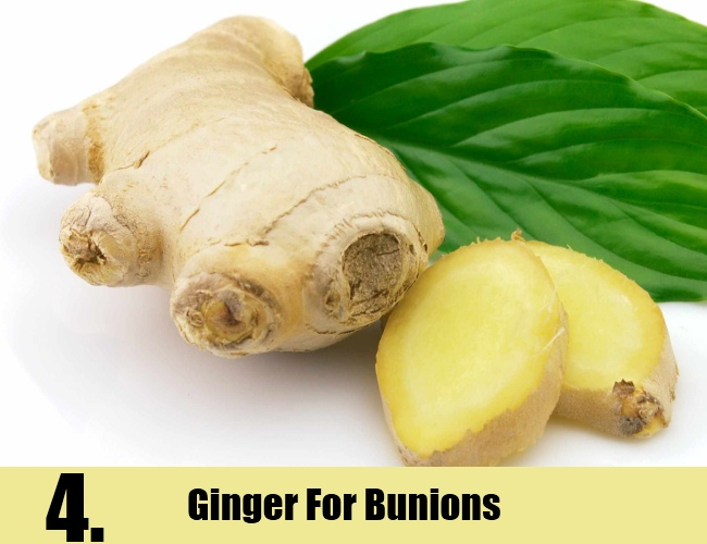 Ginger For Bunions