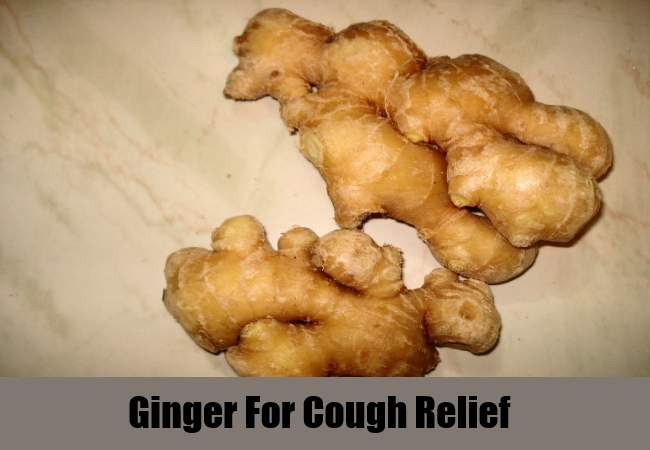 Ginger For Cough Relief