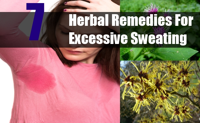 Herbal Remedies For Excessive Sweating