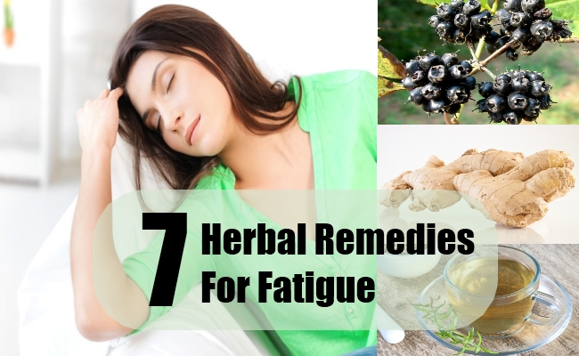 Herbal Remedies For Fatigue