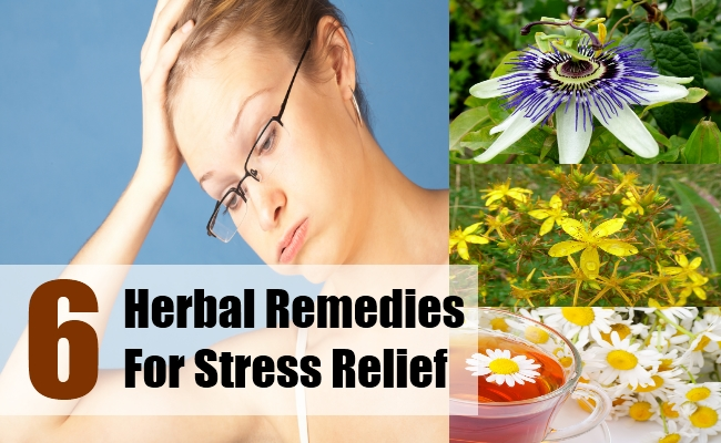 Herbal Remedies For Stress Relief