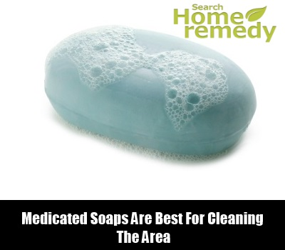 Use Medicated Soap