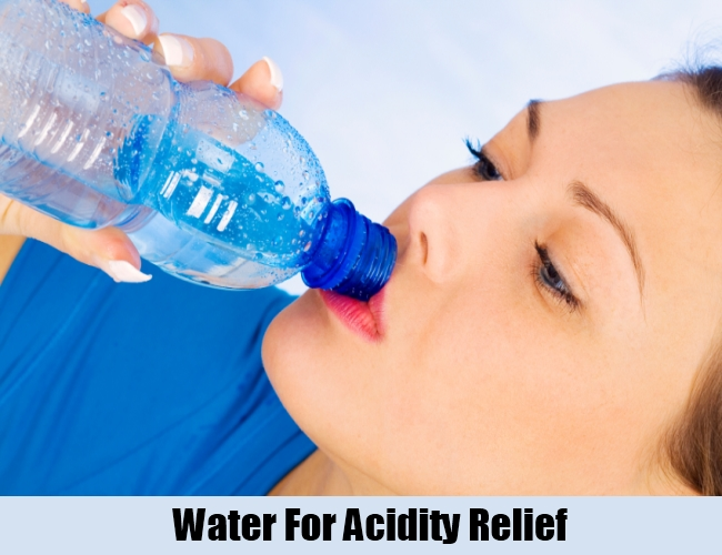 Water For Acidity Relief