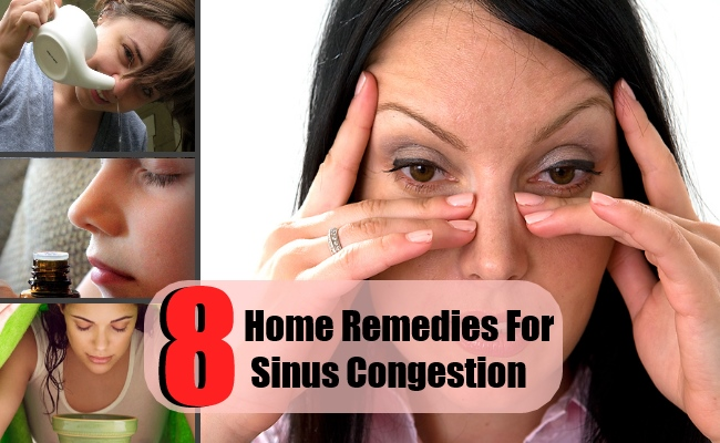 8 Home Remedies For Sinus Congestion