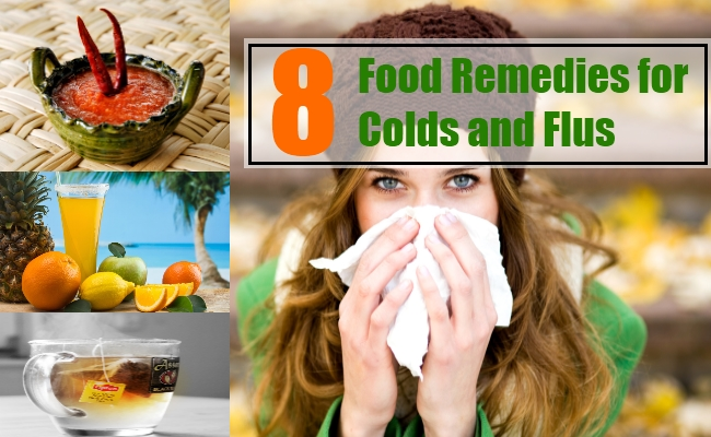 Food Remedies for Colds and Flus