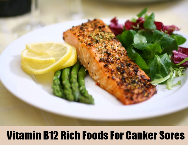 Vitamin B12 Rich Foods For Canker Sores