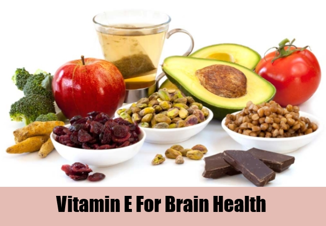 Vitamin E For Brain Health