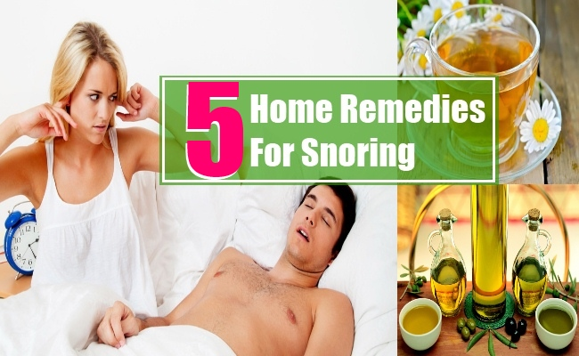 5 Best Home Remedies For Snoring
