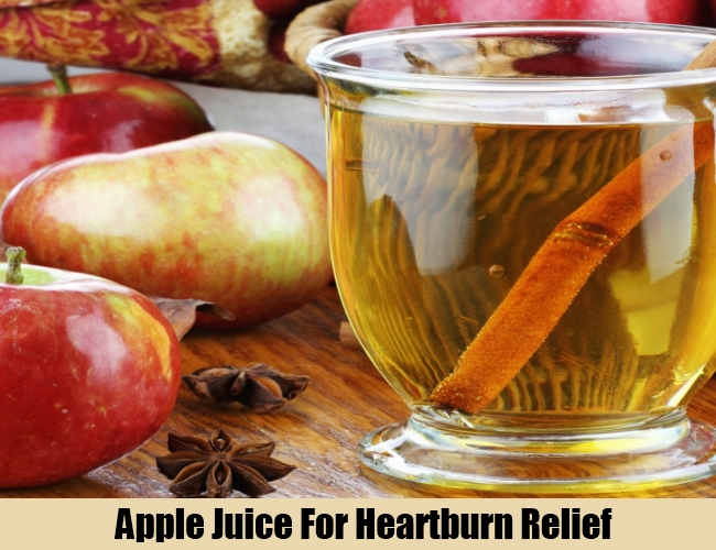 Apple Juice For Heartburn Relief