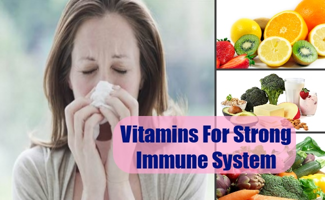 Best Vitamins For Strong Immune System