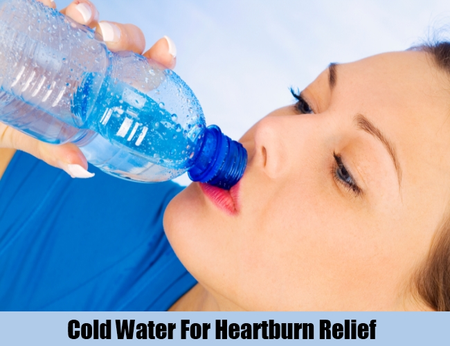 Cold Water For Heartburn Relief