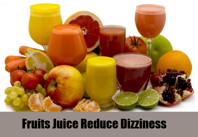 Fruits Juice Reduce Dizziness