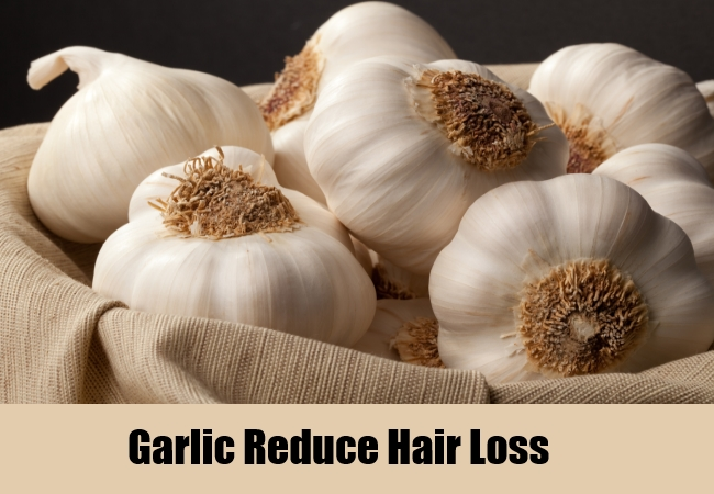Garlic Reduce Hair Loss