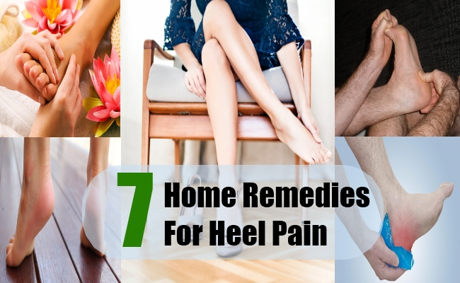 heel pain treatment at home