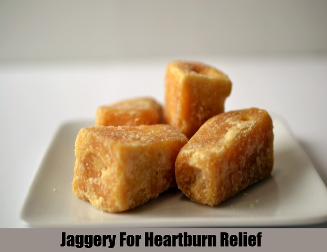 Jaggery For Heartburn Relief