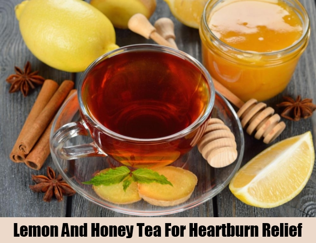 Lemon And Honey Tea For Heartburn Relief