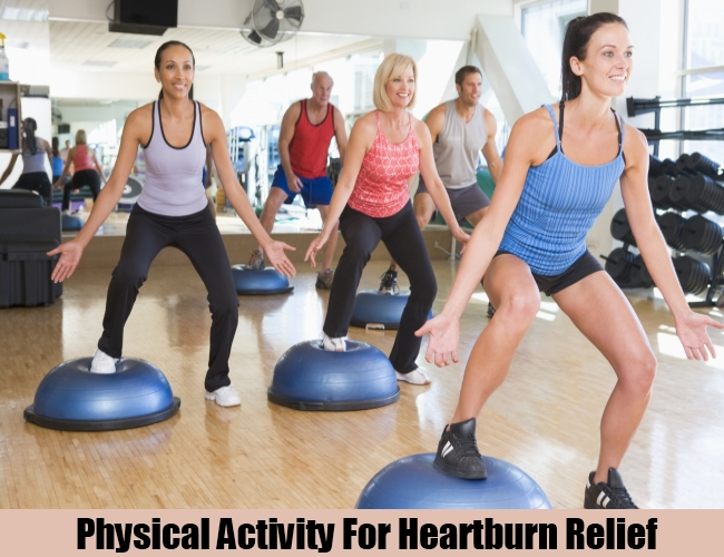 Physical Activity For Heartburn Relief