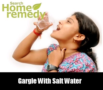 Salt Water Gargle