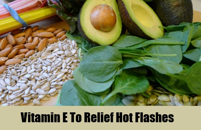 Vitamin E To Relief Hot Flashes
